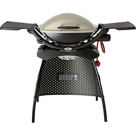 weber q 2000 stand weber 174 q 174 2000 gas bbq with stand