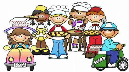 Clipart Pizza Thistle Teacher Student Classroom Lunch