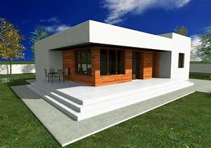 Single Story Modern House Plans Small Means Practical ...
