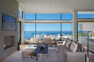 Incredible beach house in california brings the ocean indoors for House to home furniture long beach ca