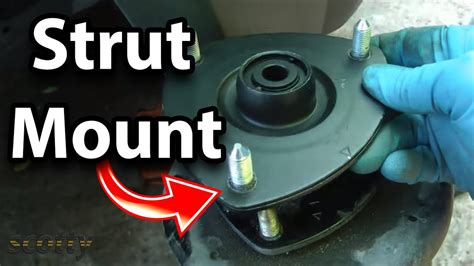 inspect  replace strut mounts   car youtube