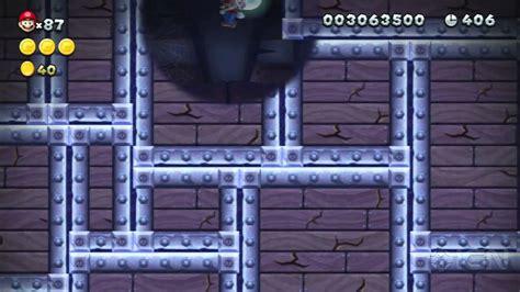 New Super Mario Bros U Secret Exit Walkthrough