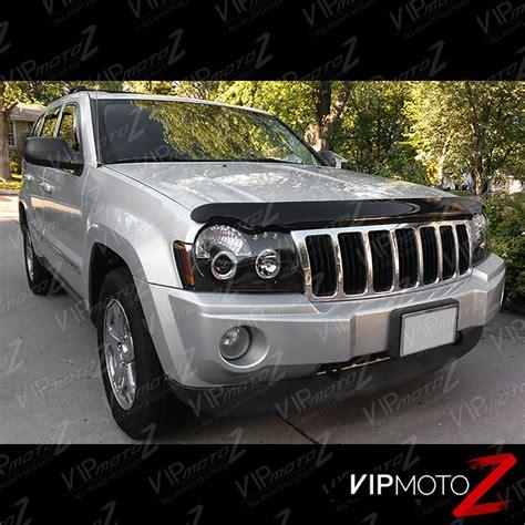 jeep black headlights best 2005 2007 jeep grand cherokee laredo srt limited