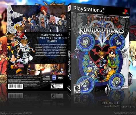 kingdom hearts ii playstation  box art cover