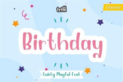 Download credit card font · free for personal use · credit card is an all capitals font for simulating bank cards (and to suggest a context of banking, finance, membership or security). Birthday Font - iFonts.xyz