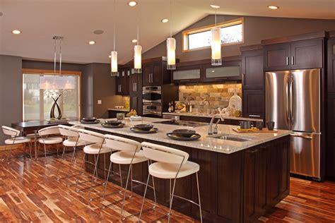 beautiful open kitchen design mahogany wood kitchen cabinet regarding open kitchens ward
