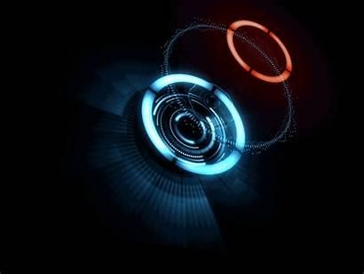 Hologram Technology Display Didzis Ui Aesthetic Milaulas