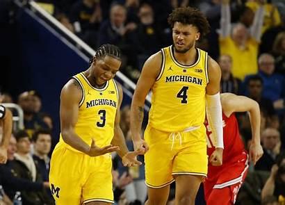 Michigan Wolverines Basketball State Ohio Five Getty