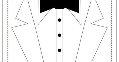 tuxedo card template   fiesta wedding