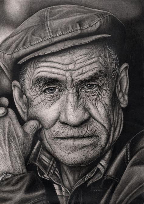 'old Man' Graphite Drawing By Pentacularartist On Deviantart