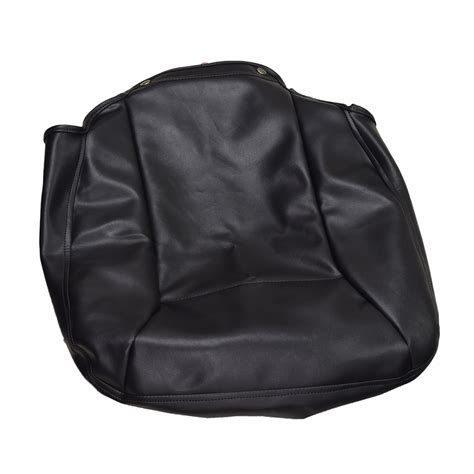 black vinyl seat base cover for the jazzy select elite sizes mobility seat covers