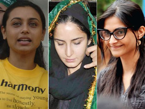 10 Bollywood Actresses Seen Without Make Up Style