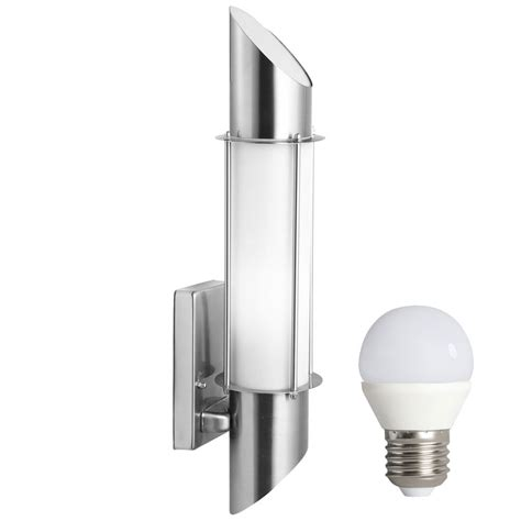 wall l stainless steel ip44 outdoor lighting in the set