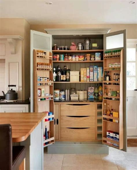 kitchen cabinet shelving racks kitchen brown wooden pantry cabinet with double doors and
