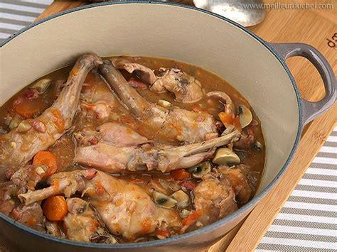 cuisine camarguaise lapin sauté chasseur recette lapin chasseur bouquet