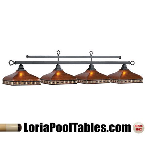 stained glass pool table light fixture 78 39 39 tahoe stained glass 4 shade pool table light