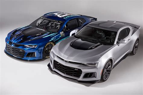 Chevrolet Car : Chevrolet's New Nascar Race Car Will Look Like A Camaro