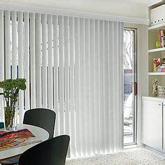 sliding glass door window treatments on