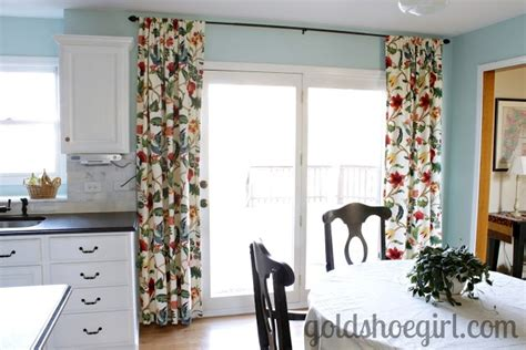 Like The Idea Of Hanging Curtains Above French Doors Out To Screened In Porch Theatre Curtains Background Bird Pattern Shower Frida Kahlo Bamboo Door Curtain No Bathroom Sew Blackout Liner Leaves Print Fabindia Harry Corry Grey Bedroom