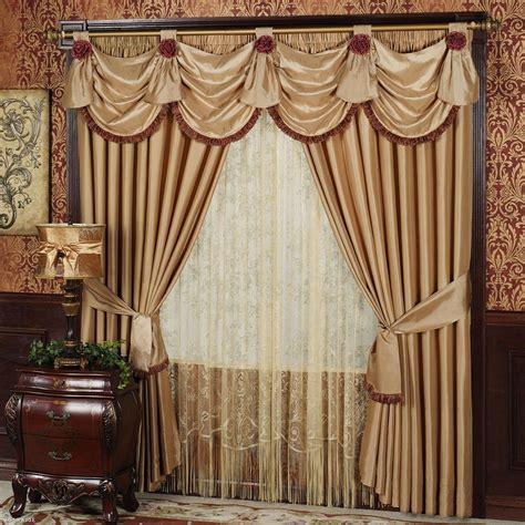Swag Curtain Ideas For Living Room by Living Room Elegance Living Room Window Curtains Designs