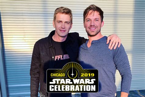 Hayden Christensen Poses With Matt Lanter at Star Wars ...