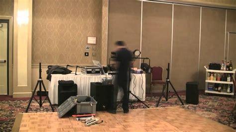 simple dj lighting setup basic dj setup 3 piece sound system scanner lights and