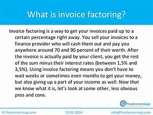 Alternative financing methods invoice factoring pros and for Factoring invoices pros and cons