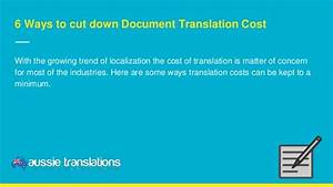6 ways to cut down document translation cost for Document translation prices