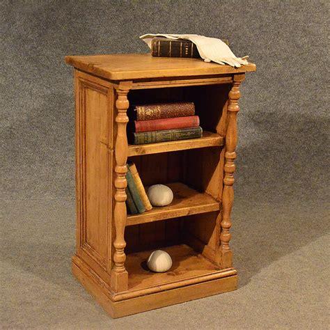 Antique Pine Bookcases by Antique Pine Narrow Cabinet Bookcase Shelves Antiques Atlas