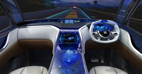 Mitsubishi Ar Concept Interior 3d Rendering Car Body