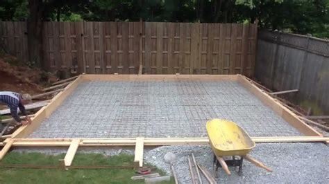 cost to pour a garage slab garage pt 8 pouring the floor