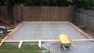 pouring a garage floor slab gurus floor With garage floor concrete thickness