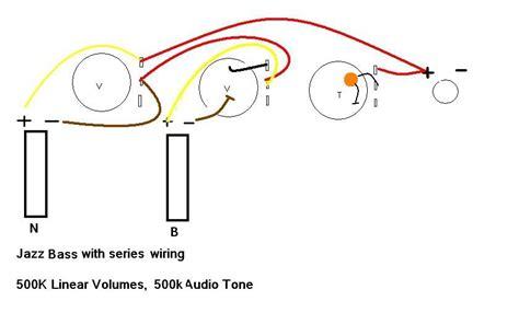 series parallel setup for 62 fender jazz talkbass