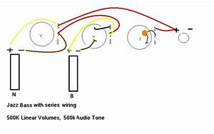 Jazz Bass Series Wiring