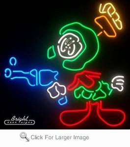 Marvin the Martian Neon Sign only $459 99 Signs M