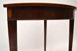 mahogany sofa table antique antique mahogany inlaid console table antiques atlas