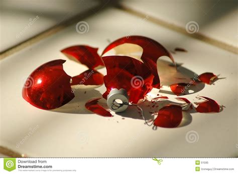 broken ornament two royalty free stock photo image 51595
