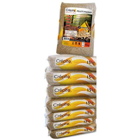 granul 233 s de bois cr 233 pito palette de 72 sacs 1080kg granul 233 s de bois pellets piskorski
