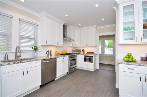 kitchen cabinet white house why white cabinets work for your kitchen in stock kitchens 109 | ice white shaker 11 1