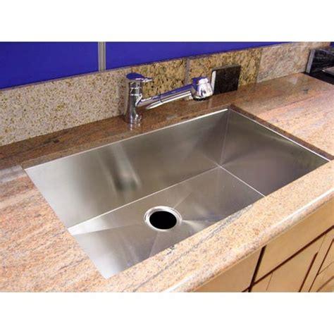 single undermount kitchen sink 36 inch stainless steel undermount single bowl kitchen 5266