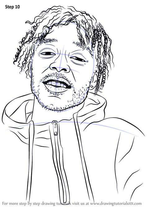 learn   draw lil uzi vert rappers step  step