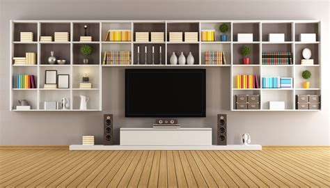 Built In Storage To Get The Most From Your Living Room