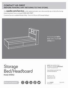 Mainstays Mates Storage Bed With Bookcase Headboard  Twin