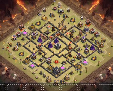 9 epic th9 war base 9 best th9 war bases anti 2 with bomb tower 2016 9 ep