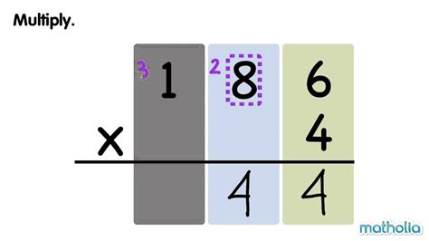 digits vertical multiplication without regrouping multiplication with regrouping