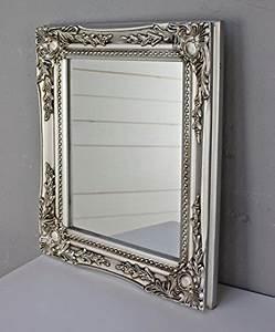 Spiegel Befestigung Wand : elbm bel 32x27x3cm rechteckiger wand spiegel handgefertigter vintage antik rahmen aus holz ~ Orissabook.com Haus und Dekorationen