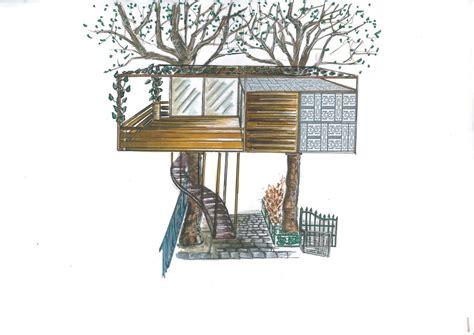 comment dessiner une cabane cabane sur les arbres designistanbul