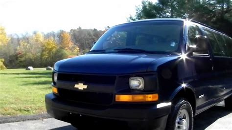 car engine manuals 1999 chevrolet express 3500 navigation system 2006 chevy express 3500 ls 12 passenger van 6 0l v8 gas motor youtube
