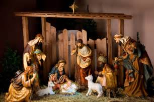 newborn baby found in nativity in church