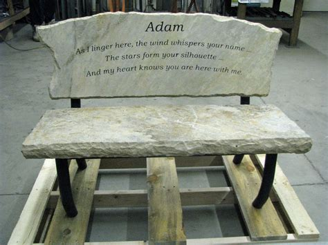 engraved garden benches engraved memory bench custom made memory bench that will